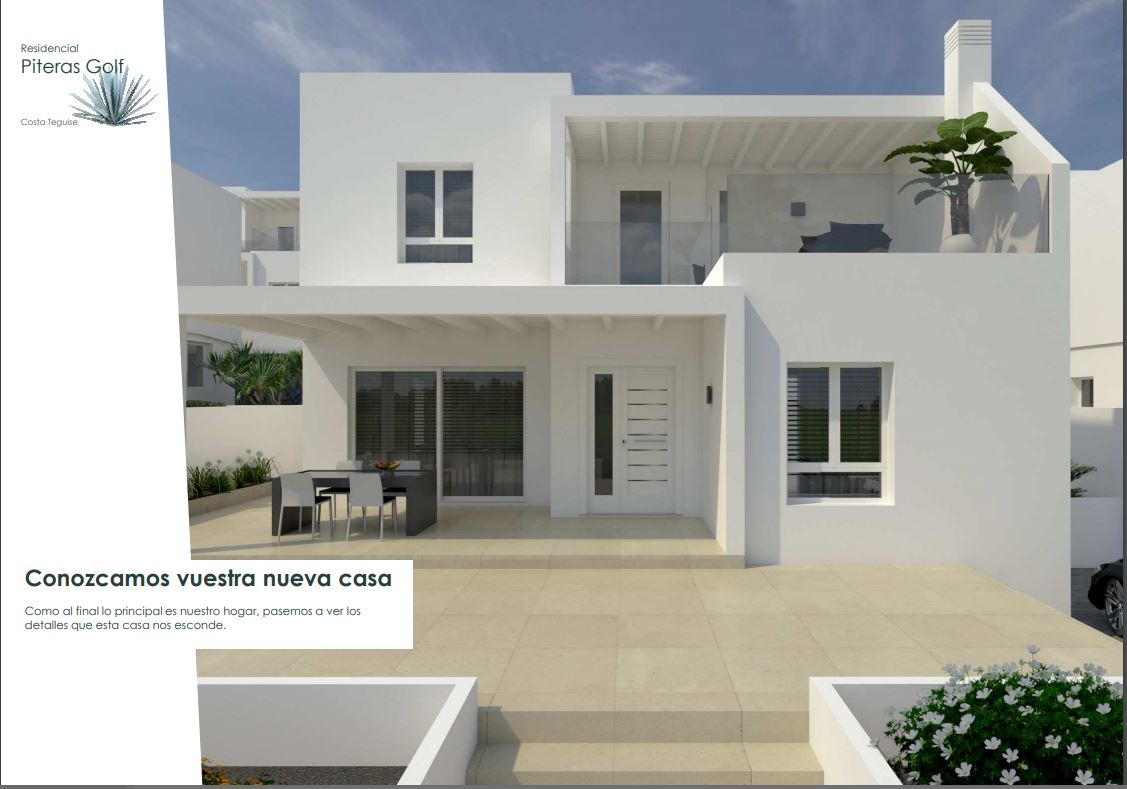 Brand new beautiful houses for sale in Costa Teguise, ref. 0378